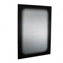 Miroir mural Noir (90 X 60...